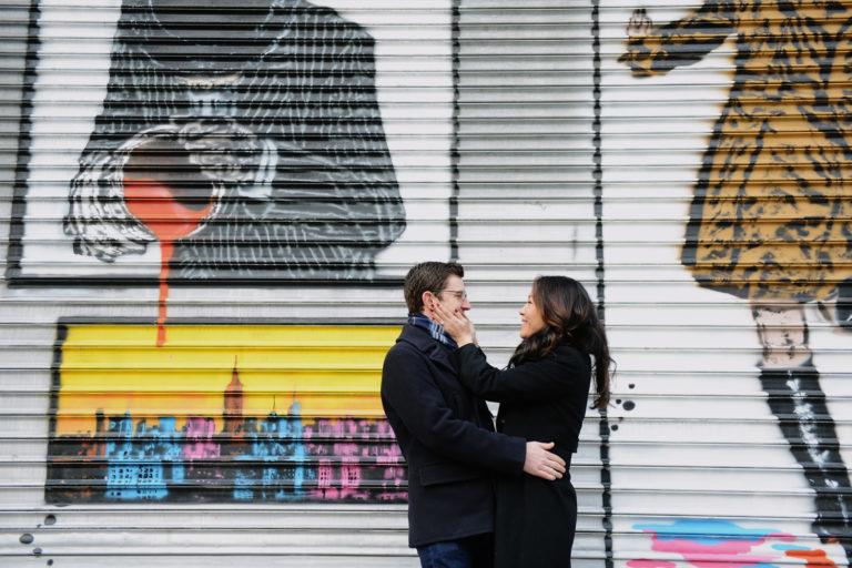 Paar Fotos aus einem Paarshooting in New York
