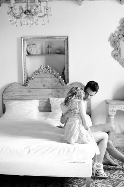 Wedding Boudoir Photography in the Provence