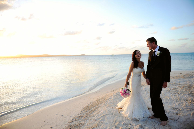Jumby Bay Island Beach Wedding Caribbean