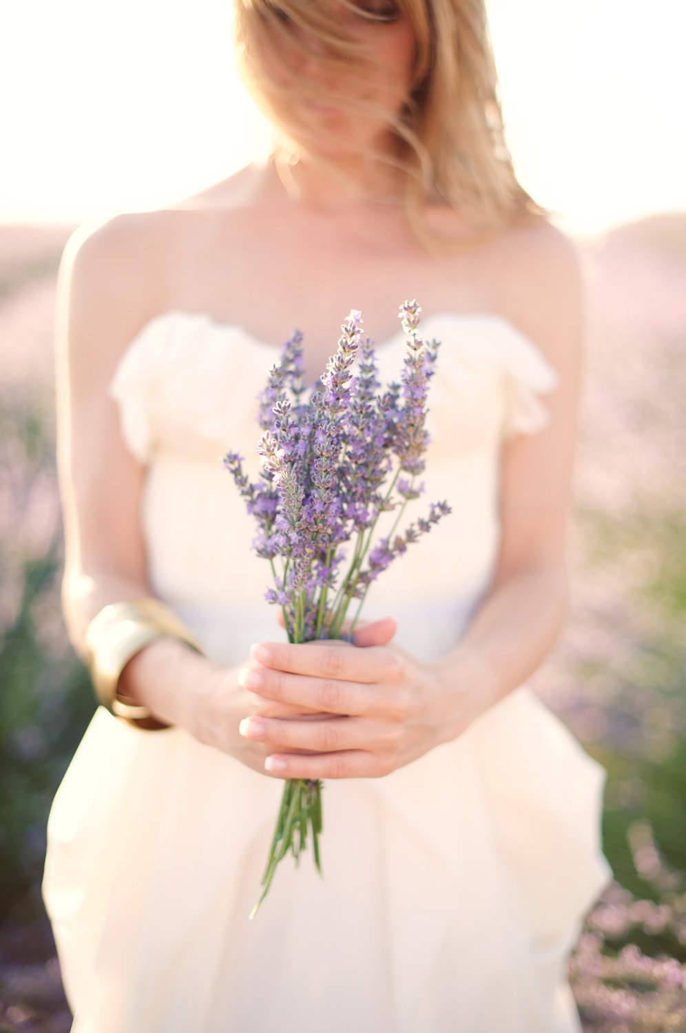 Provence Wedding with Vintage Details