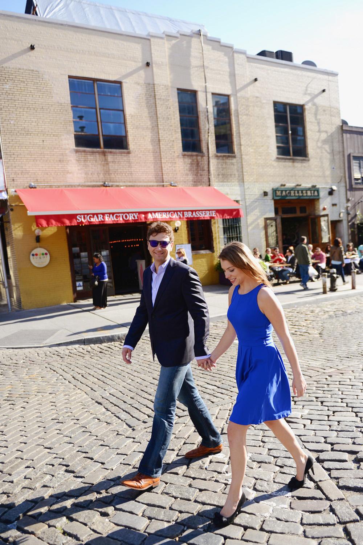 Marissa und Ryan's Paarshooting und Bilder zur Hochzeit, fotografiert in Grand Central und Meatpacking District New York von Hochzeitsfotograf Deutschland XOANDREA
