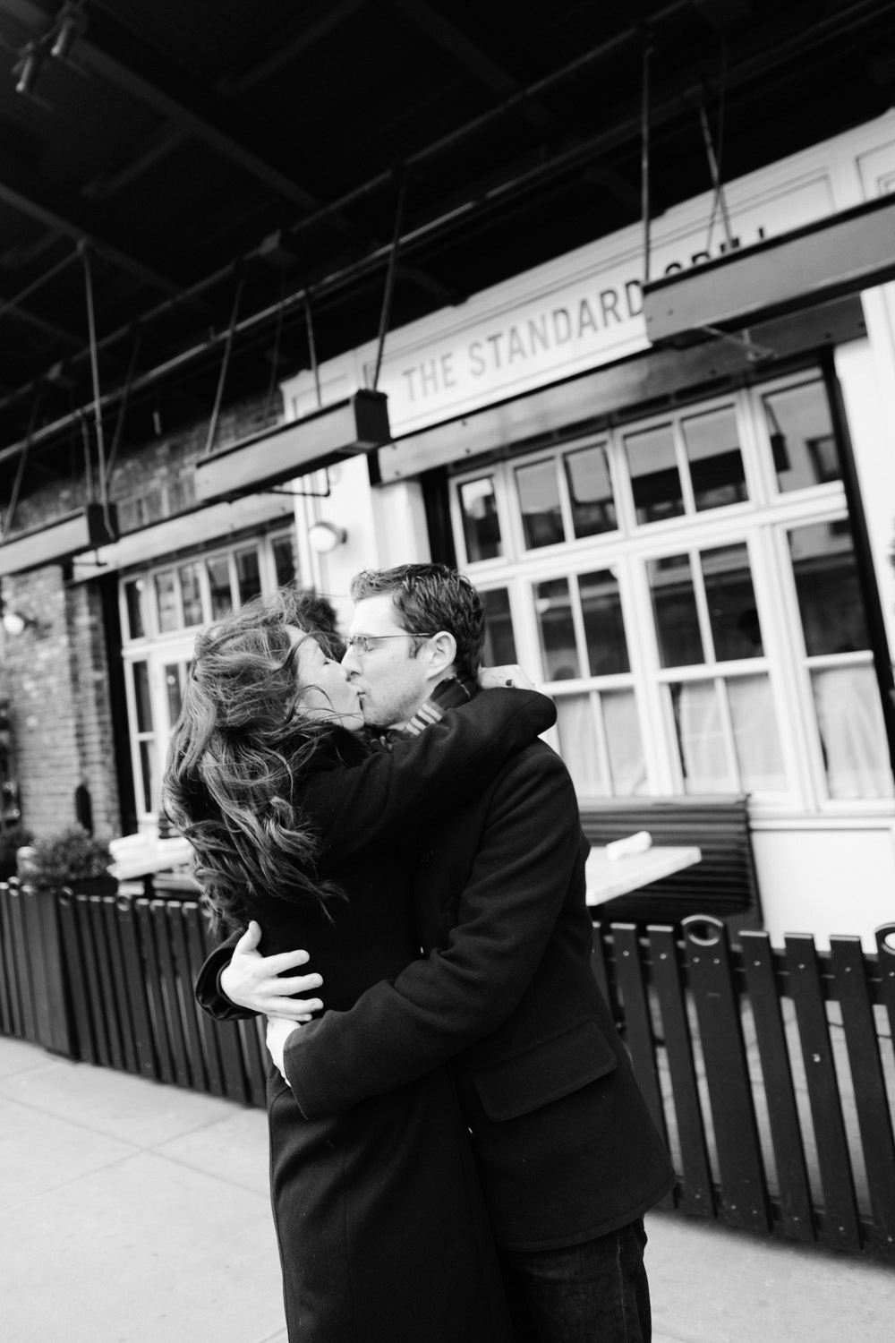 Enggement Shooting in the Meatpacking District with Yena and Andrew from Engagement Photographer New York XOANDREA