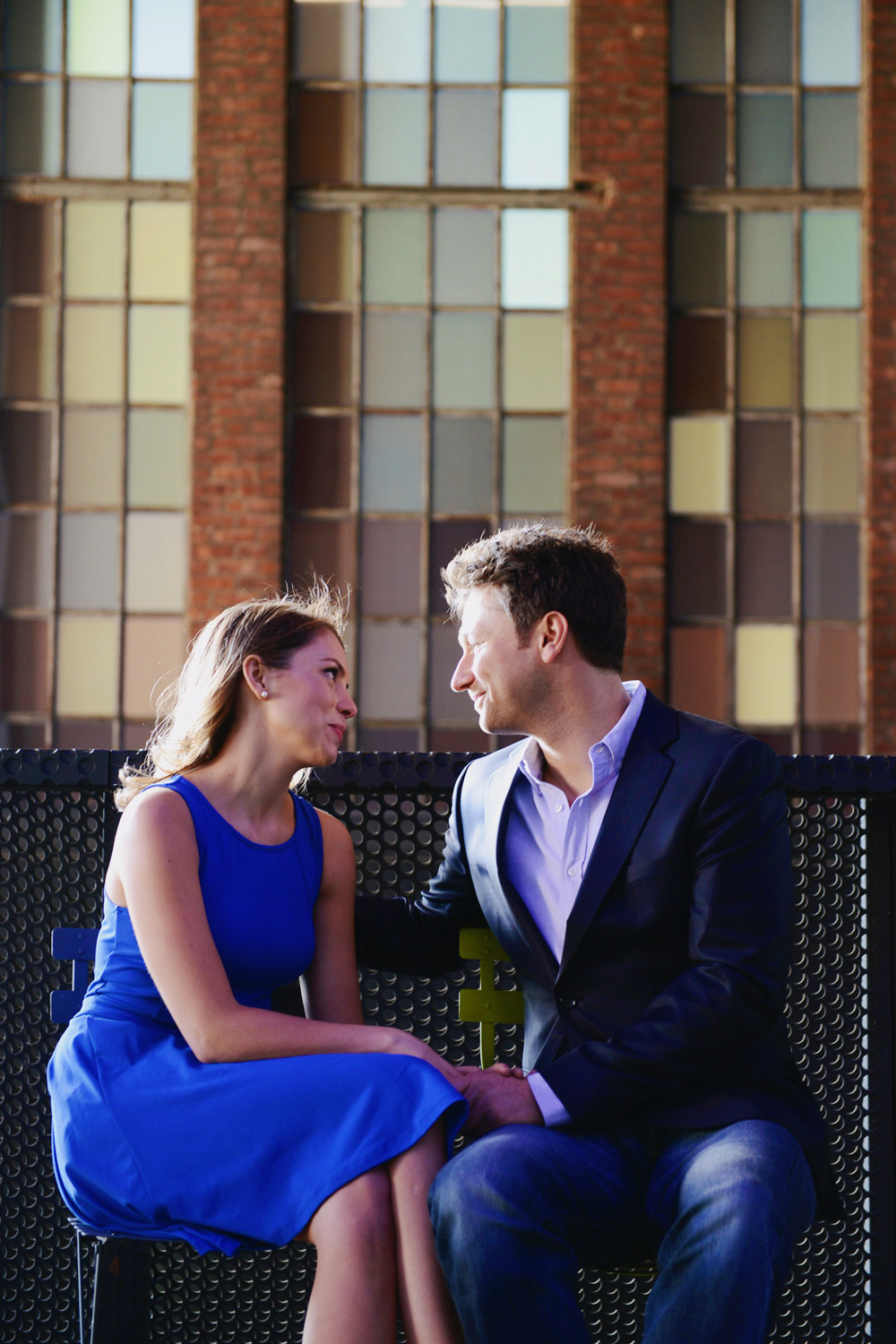 Engagement photos taken in Grand Central & Meatpacking District New York by Engagement Photographers NYC XOANDREA