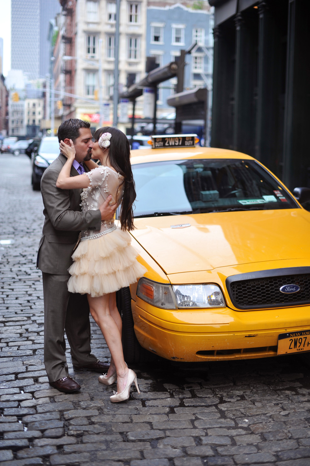 Wedding photos of Georgette & Jamie at the NoMo SoHo New York Hotel by wedding photographer XOANDREA
